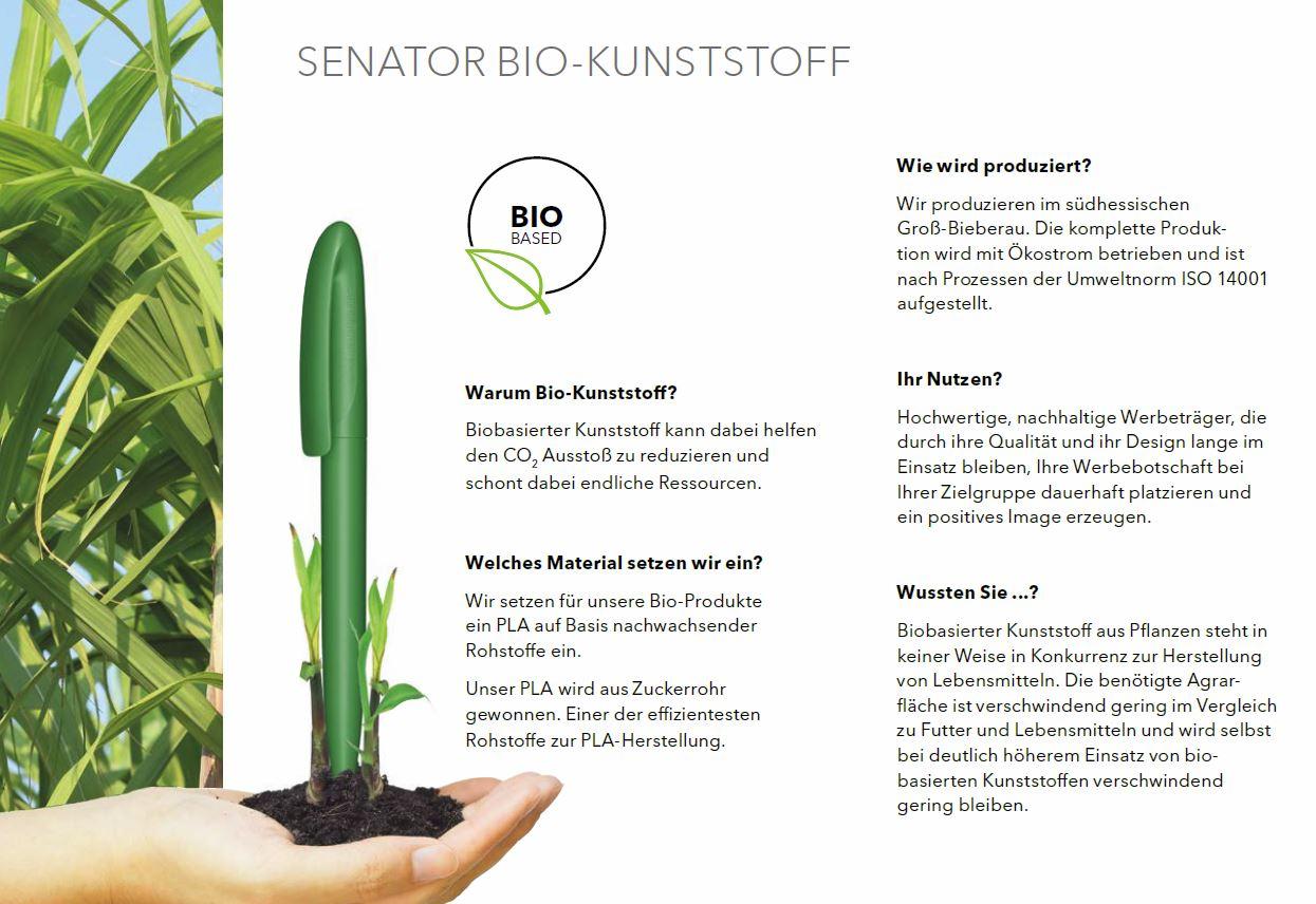 Bio-Kunststoff-Senator