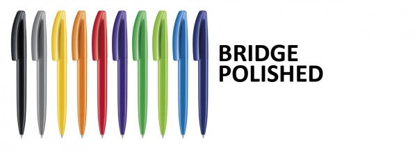 Kugelschreiber BRIDGE Polshed